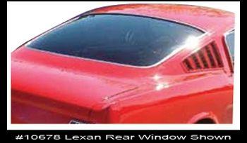 65-66 Ford Mustang Heckscheibe