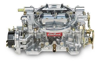 Vergaser - Edelbrock Performer - 500 cfm - Aluminium - Elektrischer Choke - Poliert