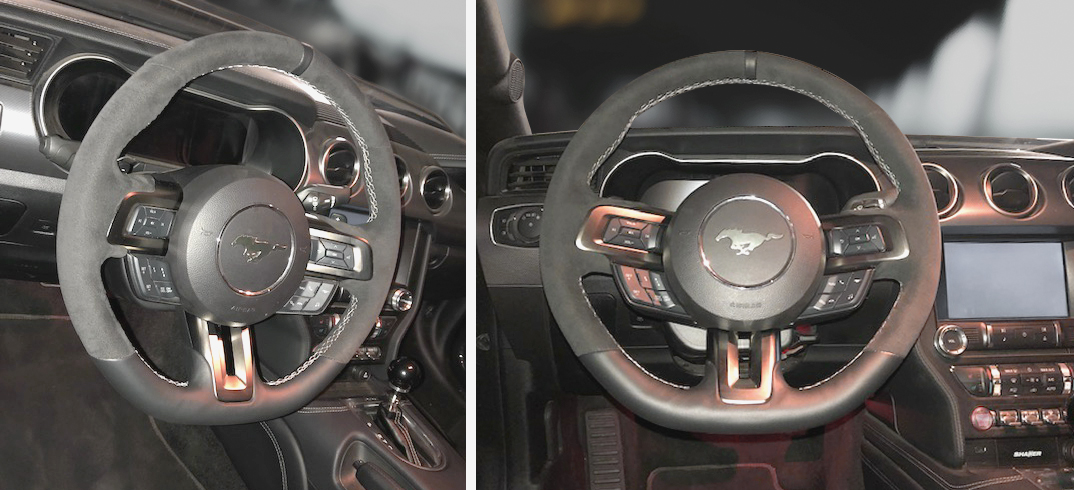 Lenkrad - Orig. GT350 Leder/Alcantara