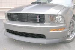 05-09 Ford Mustang GT Kühlergrill - Vorne unten - Silber