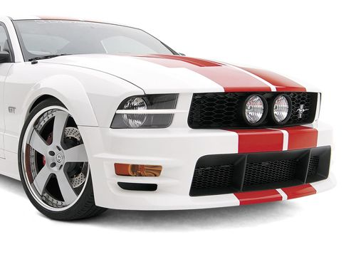 05-09 Ford Mustang GT Kühlergrill