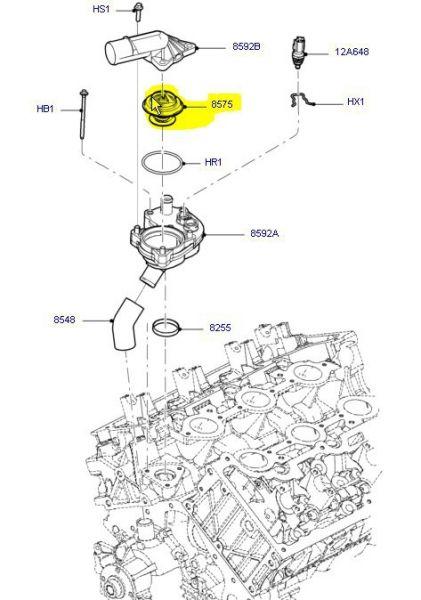 05-06 V8 Thermostat