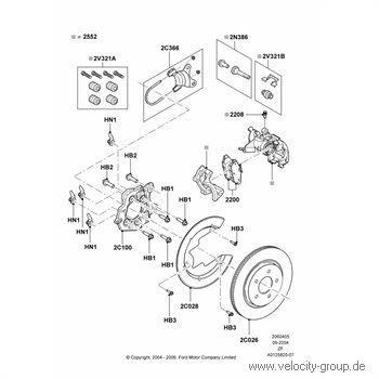 05-12 V6,GT,GT500 Halterung für Bremssattel hinten links