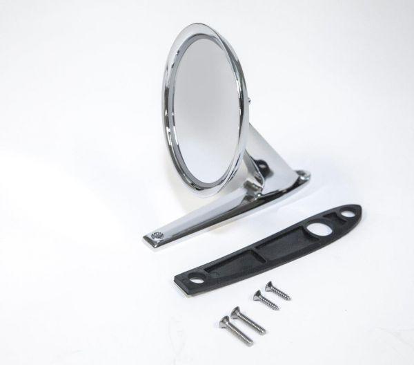 64-66 Außenspiegel - chrom langer Fuß