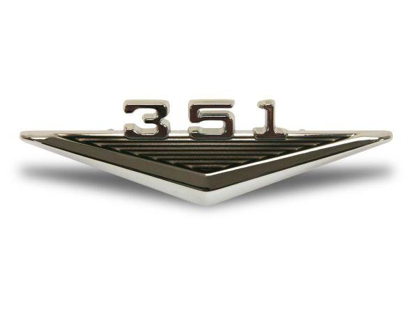64-66 Ford Mustang Emblem Kotflügel