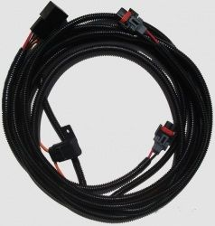 10-12 Kabelbaum für Umbau von V6 auf Nebelscheinwerfer - H10 Sockel