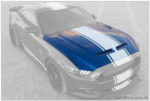 15 17 ford mustang motorhaube super snake style carbon. Black Bedroom Furniture Sets. Home Design Ideas