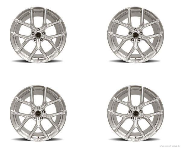 15-20 Ford Mustang Felgensatz - Shelby CS3 - 9,5x20 Zoll und 11x20 Zoll - Chrome Powder