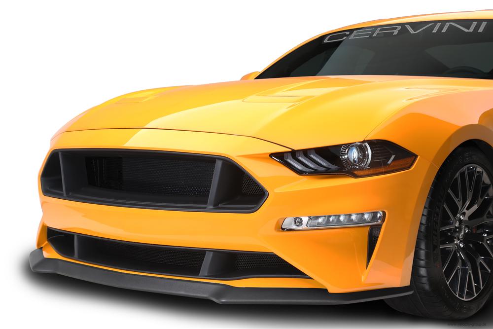 2018 Ford Mustang Kühlergrill - Cervinis, Set oben und unten