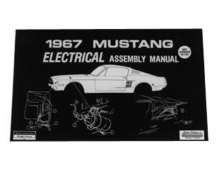 1967 Ford Mustang Technisches Handbuch - Elektrik