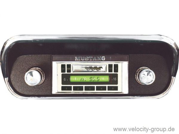 67-73 Ford Mustang Radio - Custom Autosound - USA-230