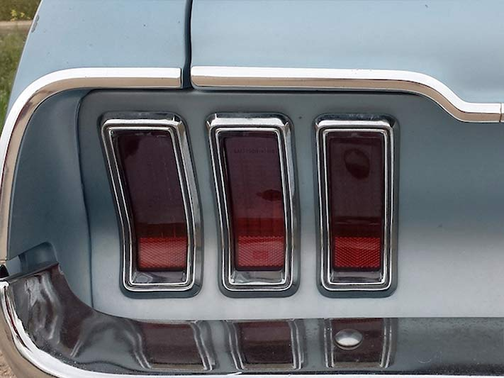 1968 Ford Mustang Rückleuchten