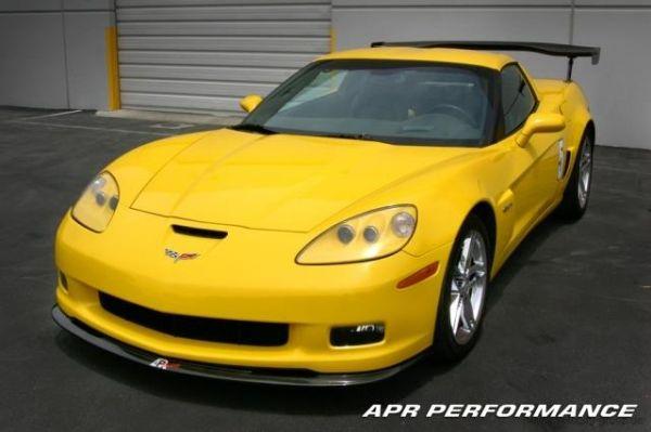 06-09 Corvette C6 Carbon Chin Spoiler