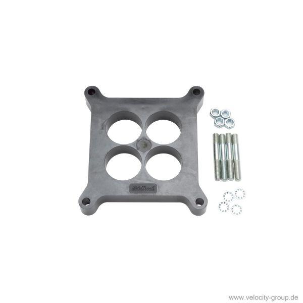 Isolierflansch Vergaser - 1 Zoll Stärke - Phenolharz-Kunststoff