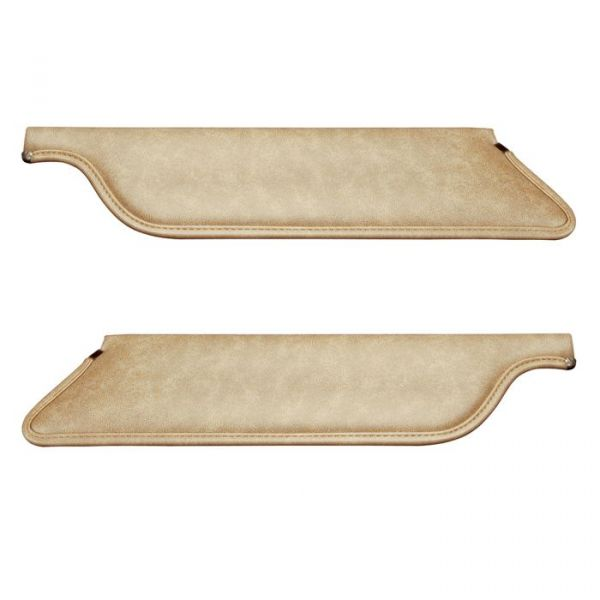 64-66 Ford Mustang Coupe/Fastback Sonnenblenden Set - Parchment