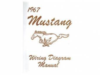 1967 Ford Mustang Technisches Handbuch - Schaltplan klein
