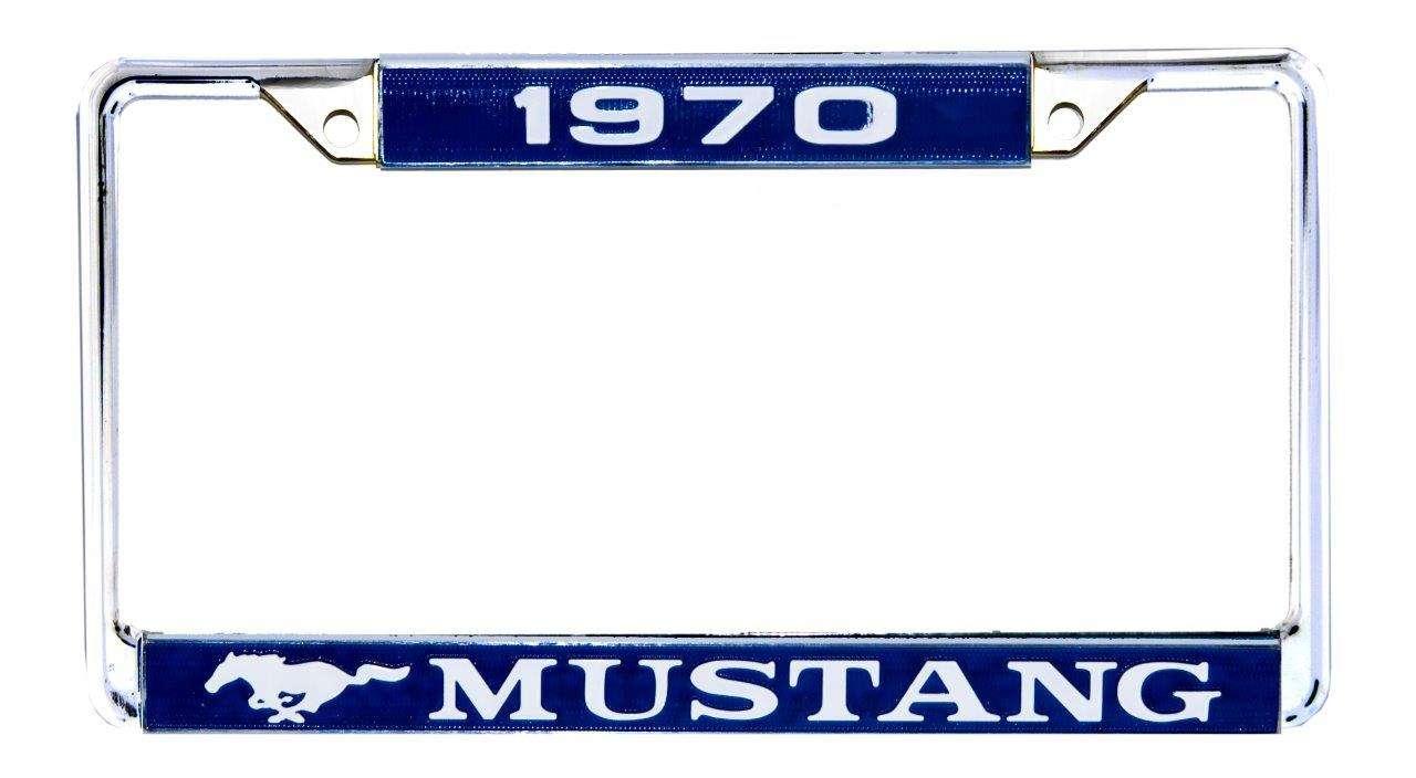 1970 Ford Mustang Rahmen für Kennzeichen ACC-LPF-70