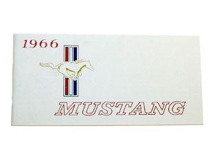 1966 Ford Mustang Bedienungsanleitung