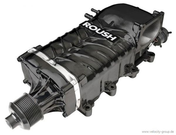 05-09 ROUSH R2300 Kompressor - Doppelriemen - Phase 2 - 550PS