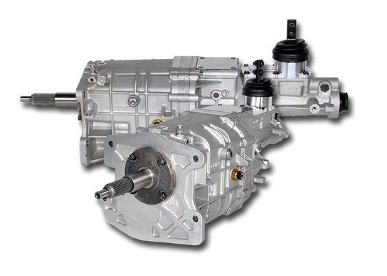 64-73 Ford Mustang Schaltgetriebe komplett - Tremec TKX - 0,68 fünfter Gang - 813 Nm