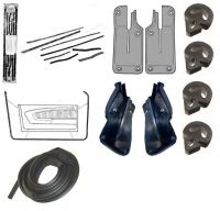 71-73 Ford Mustang Fastback Türdichtungs Set