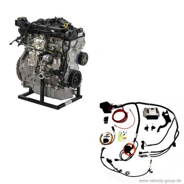 Komplettmotor - 2,0 l EcoBoost inkl. Kabelbaum und Motorsteuerung M ...