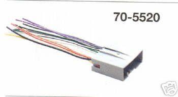 05-09 Radio-Adapter von Ford Norm auf offene Kabel - Standardradio