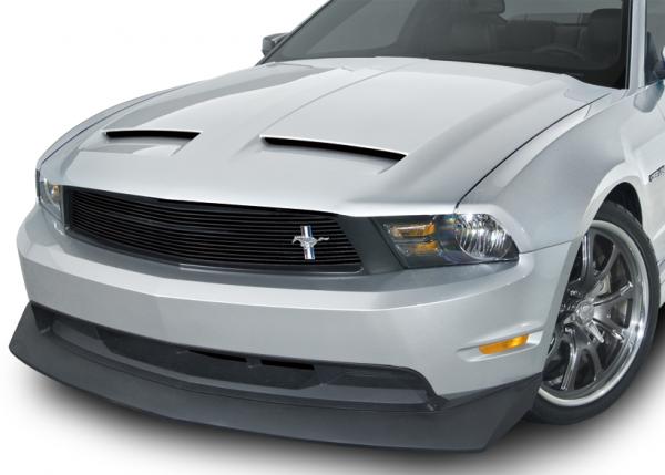 10-12 Ford Mustang (3.7-5.0) Spoiler - Cervinis - B2 - Schwarz Strukturiert