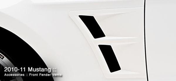 10-14 3DCarbon Lufteinlässe für Kotflügel hinter Radlauf