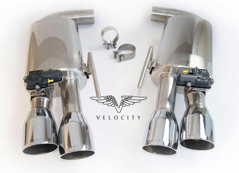 Velocity 4-Rohr Klappenabgasanlage