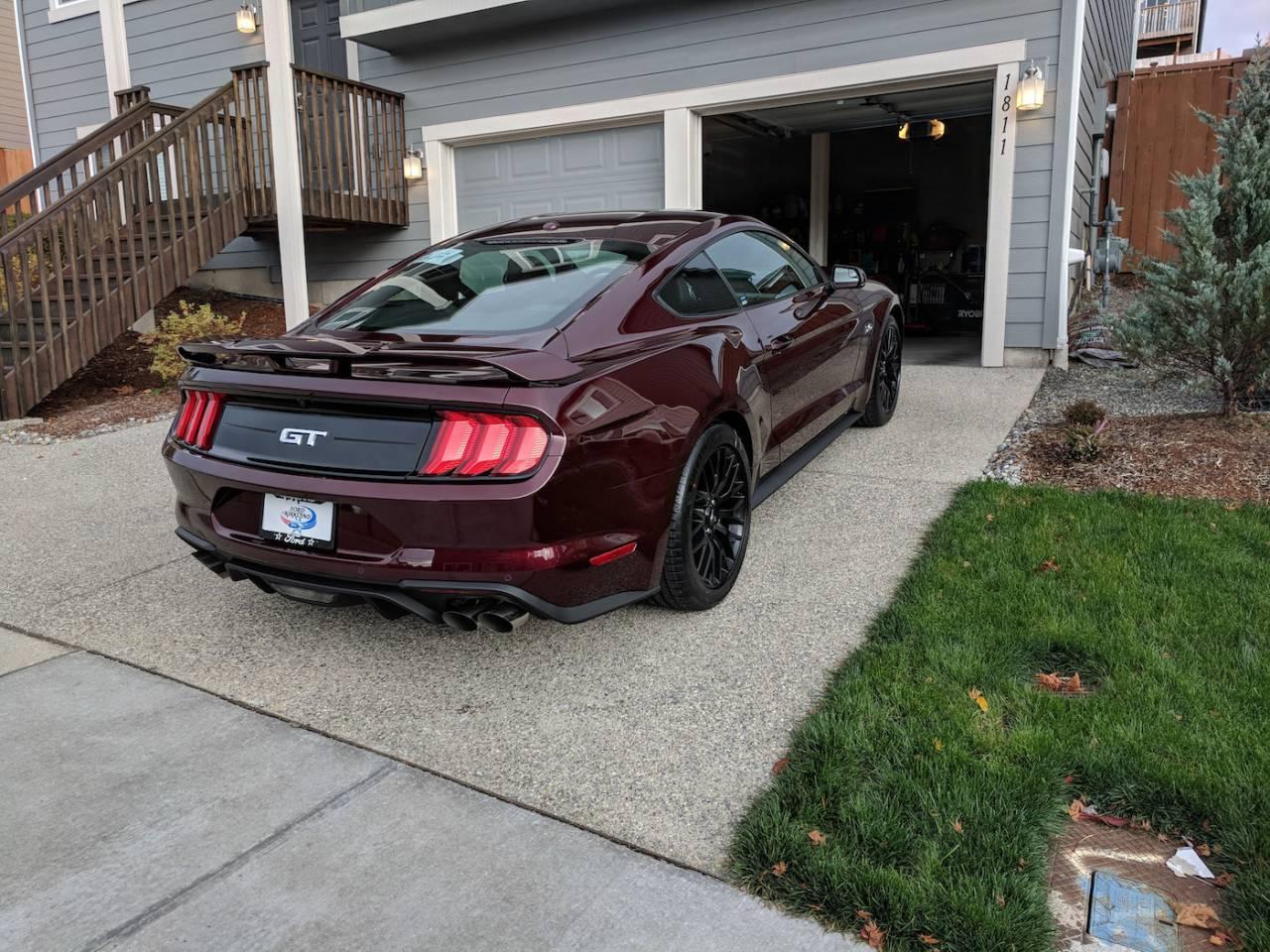 Mustang Gt Royal Crimson X on Dodge Ram 1500 Parts