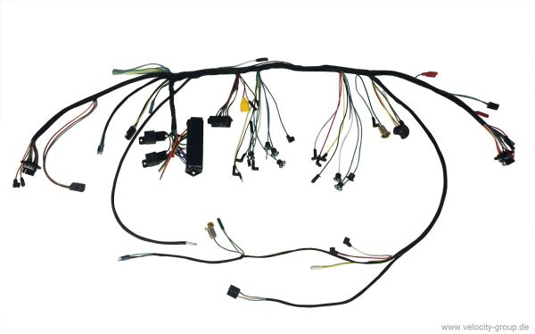 1965 ford mustang dashboard wiring harness  relay c5zz