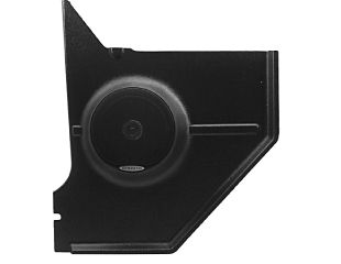 Fastback/Hardtop Kick Panel - Black - With Speakers