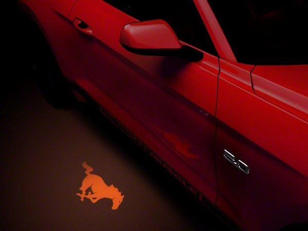 13-19 Ford Mustang Umfeldbeleuchtung - Linsenfolie orange