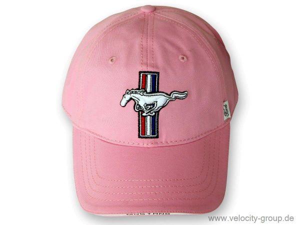 a594dd85b Ford Mustany Cap mit Tri-Bar Pony - pink