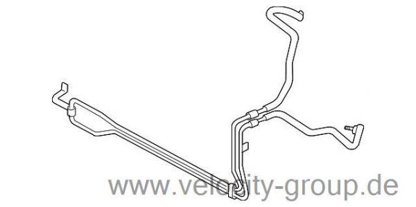 07-09 Ford Mustang (5.4) Motoröl- und Getriebeölkühler