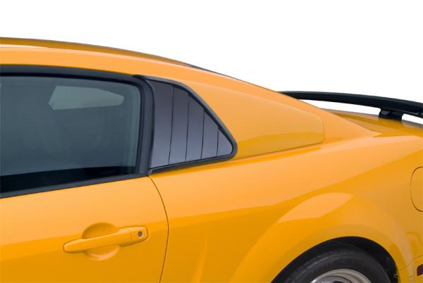 07-09 Ford Mustang Shelby GT500 Coupe - (5.4) Aufsatz für Scheibe - Cervinis - Kiemen & Geschlossen