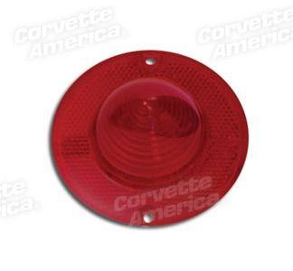 56-57 Chevrolet Corvette Glas Rücklicht - Rot