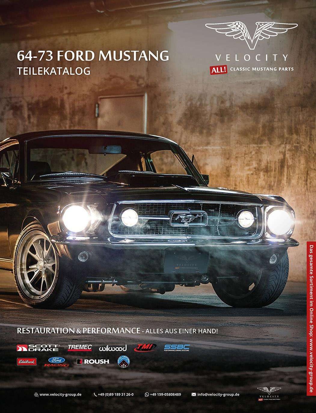 Catalog - Velocity parts catalog 64 - 73 Ford Mustang b035cea56d