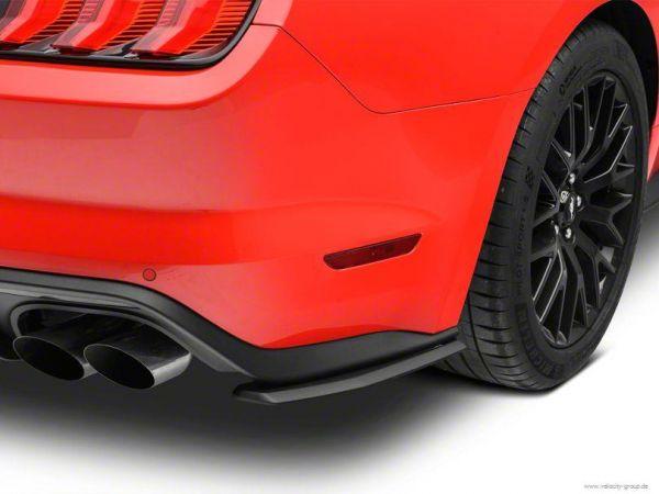 18-20 Ford Mustang Stoßstangenansatz - Diffusor Winglets - hinten - links & rechts