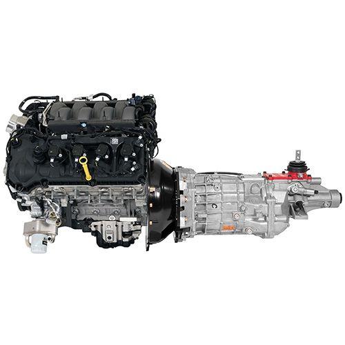 64-73 Ford Mustang Komplettmotor - 5.0 Coyote - Inkl. Tremec 6-Gang Schaltgetriebe
