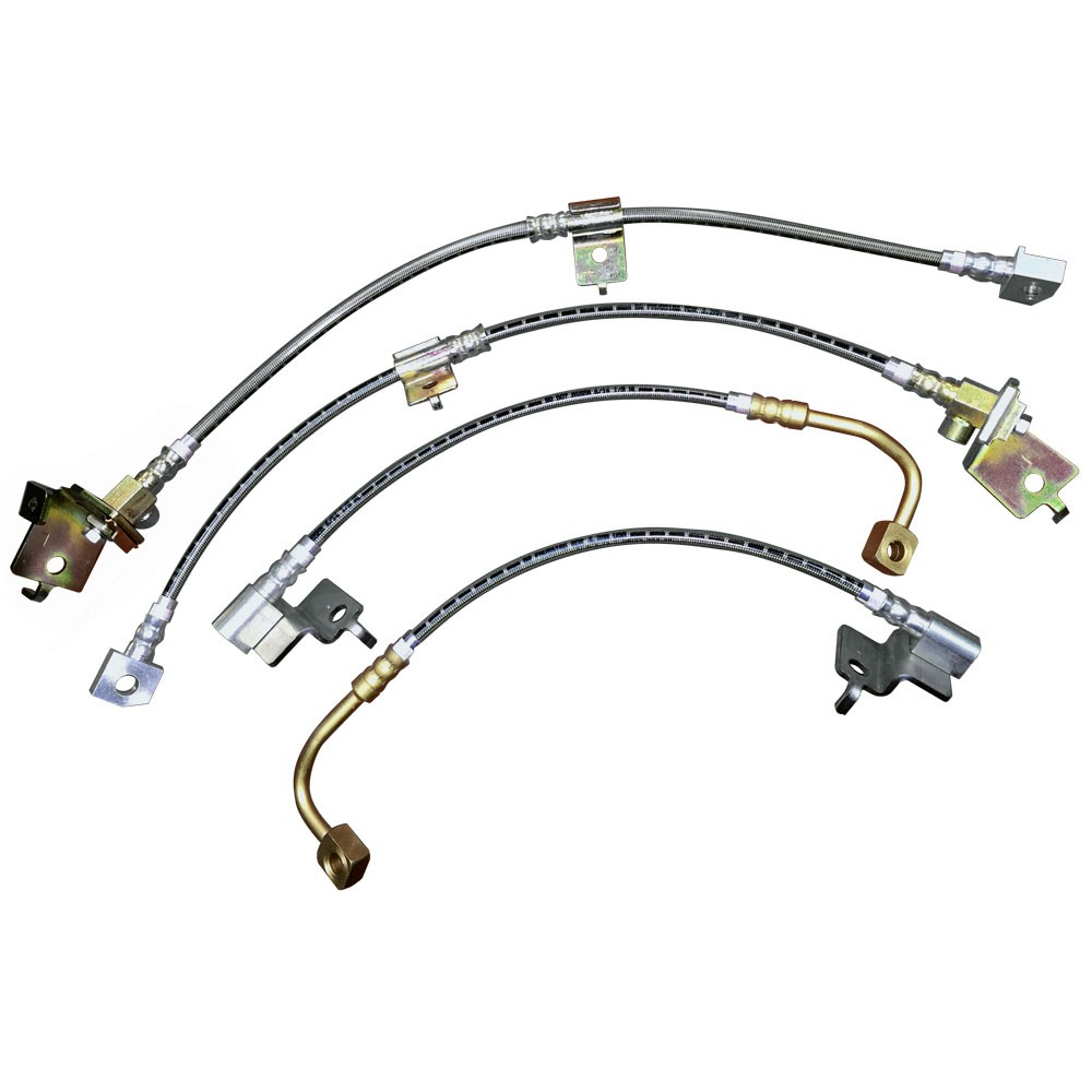 Auto Parts Brake Lines : Brake hydraulic line set velocity all us car parts