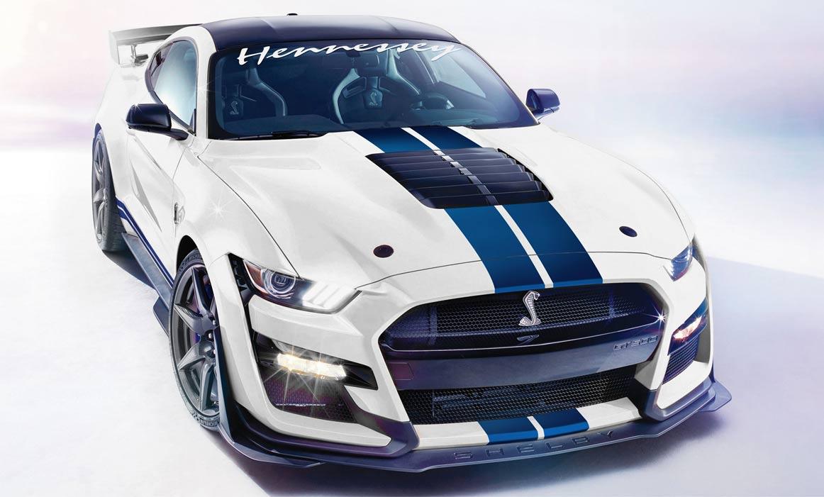 1200 PS im neuen Shelby GT500 - Hennessey Performance macht es möglich