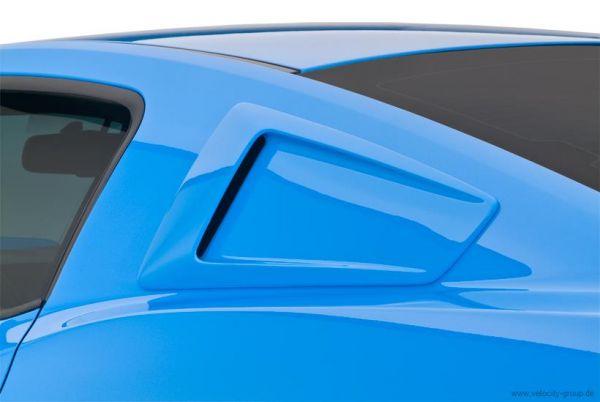 10-14 Ford Mustang Aufsatz für Scheibe - Seite - Unlackiert