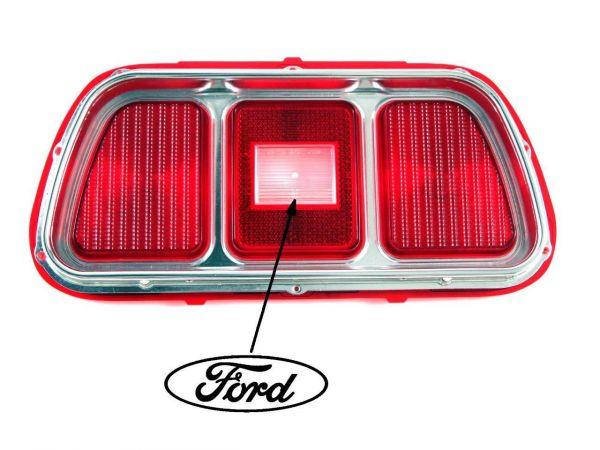 71-73 Ford Mustang Glas Rücklicht