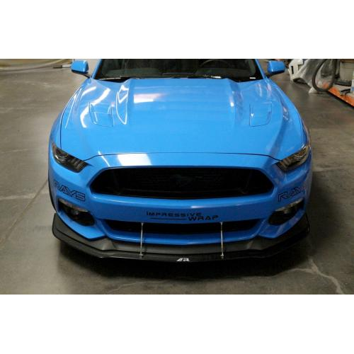 15 17 ford mustang aero splitter carbon with performance package rh velocity group de