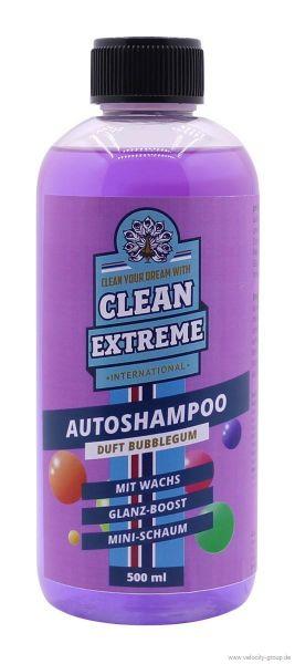 Autoshampoo - Konzentrat - Bubblegum mit Wachs - 0,5 Liter