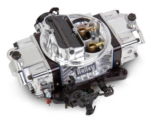 Vergaser - Holley Ultra Double Pumper - 850 cfm - Elektrischer Choke - Chrom / Schwarz