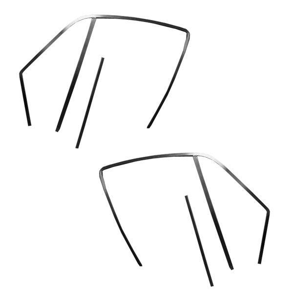65-66 Fastback Rahmen für Seitenfenster - R-Model