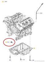 11-19 Ford Mustang Ölablassschraube